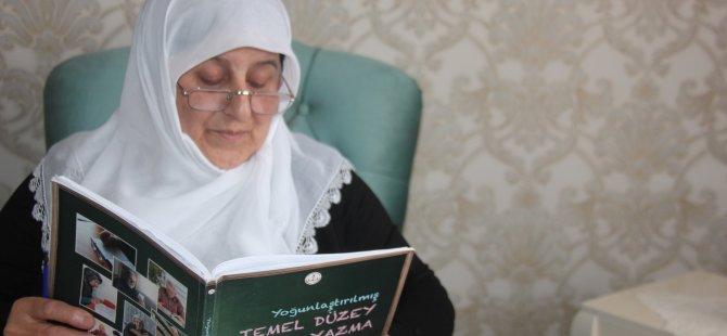 Gurbetçi teyze 40 yıl sonra okuma-yazma öğrendi