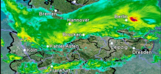 Almanya'da fırtına alarmı