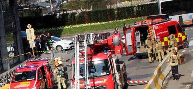 Belçika'da patlama: Yaralılar var