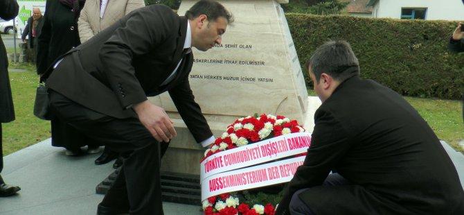 Avusturya'da Türk Şehitliği açıldı