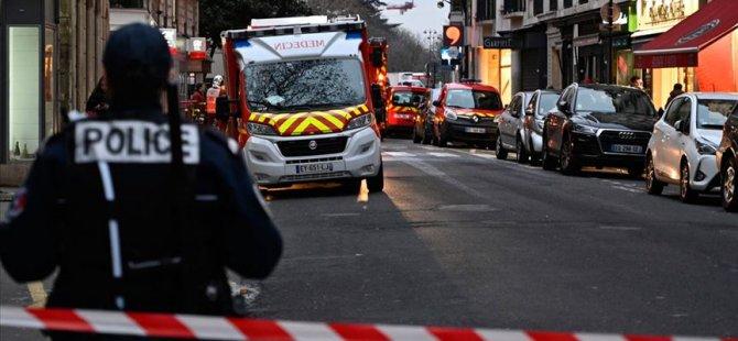 Paris'te binada patlama: Yaralılar var
