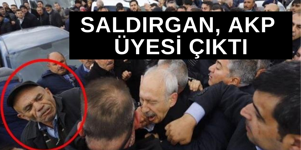 Saldırgan, AKP üyesi çıktı