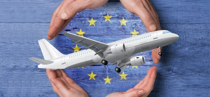 Avrupa'da uçuş trafiği yüzde 88 azaldı