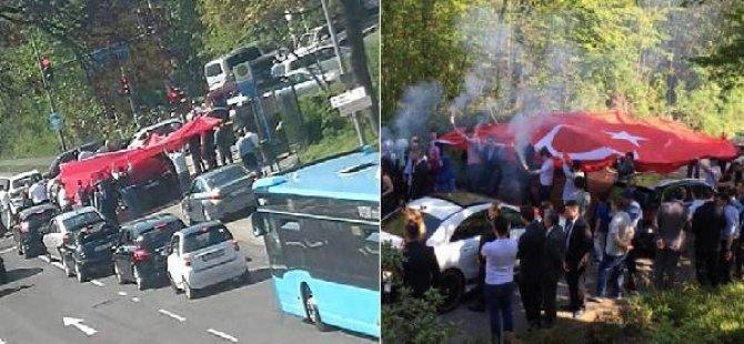 Alman polisinden 'düğün konvoyu' operasyonu