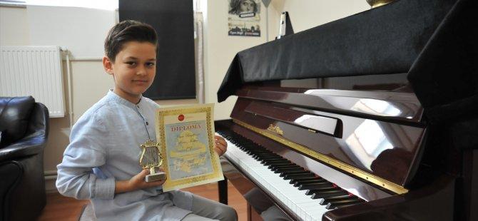 Küçük piyanist Avrupa birincisi oldu