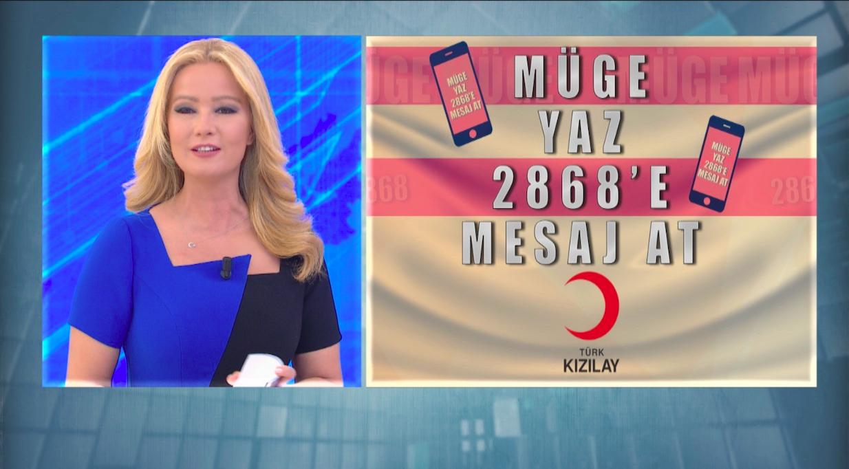 Müge Anlı'da 4 Milyon lira bağış toplandı