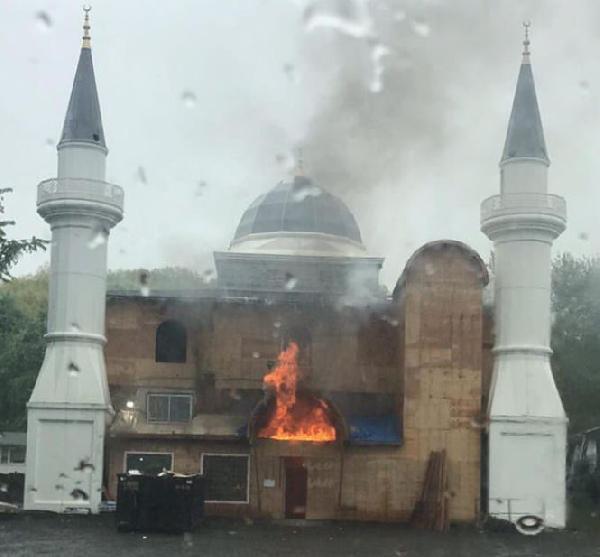 ABD'de camide yangın