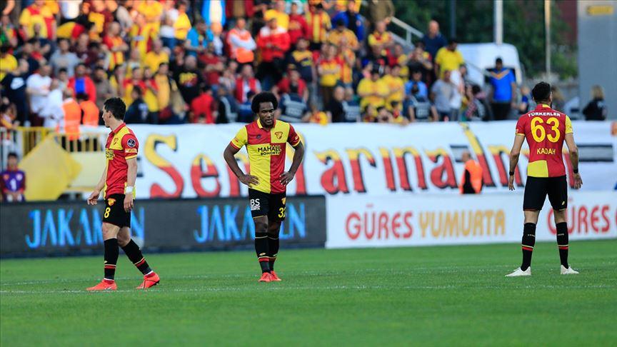 Göztepe'den maç günü tepkisi