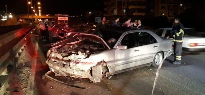 Sıla yolunda trafik kazası