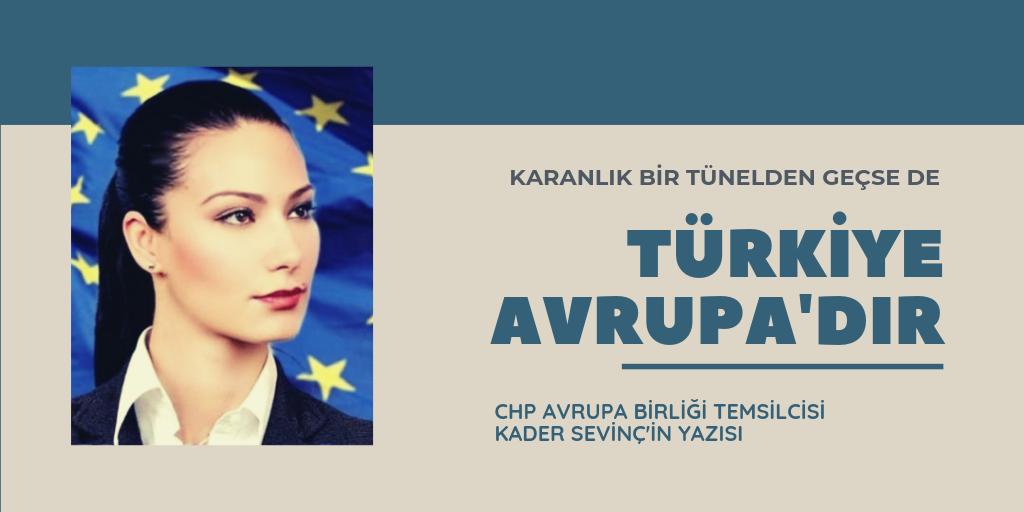 Türkiye, Avrupa'dır