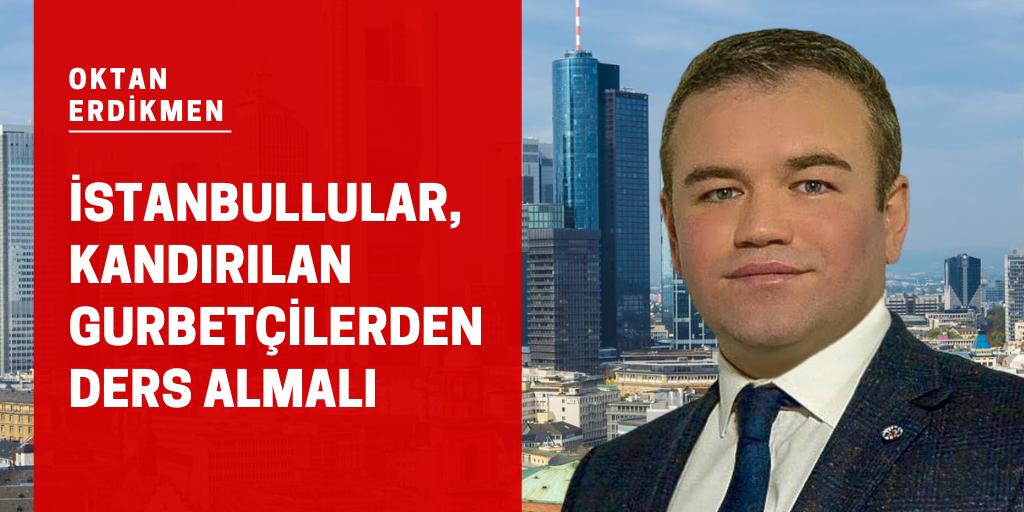 İstanbullular gurbetçilerden ders almalı
