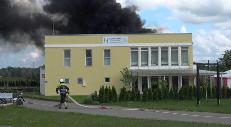 Danimarka'da Diyanet camisinde yangın