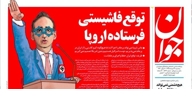 İran'dan Alman bakana Nazi benzetmesi