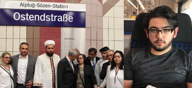 Türk kahraman gencin adı istasyona verildi