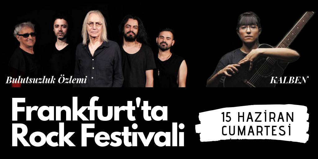 Frankfurt'ta rock festivali