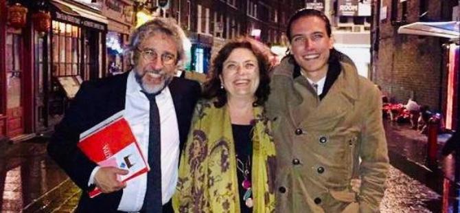 Eşi ve oğlu ile Almanya'da buluştu
