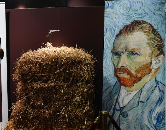 Van Gogh'un silahı 162 bin 500 avroya satıldı