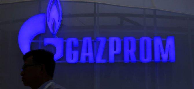 Gazprom'un hisseleri donduruldu