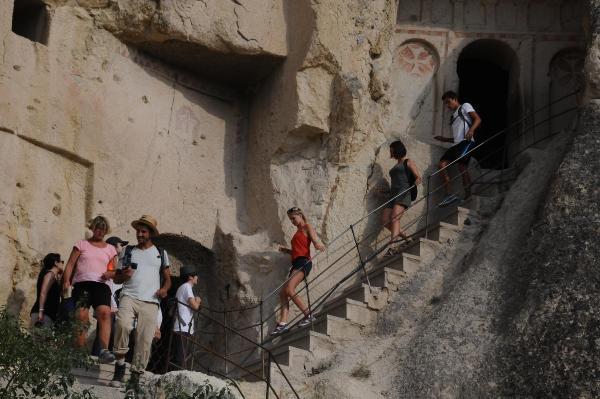 Kapadokya'ya tatilci akını