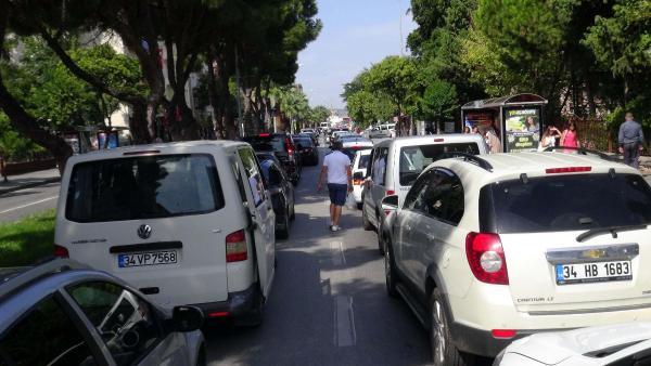 Çanakkale'de tatilcilerin dönüş yoğunluğu başladı