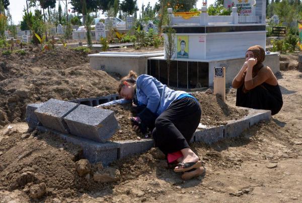 Beytüşebap'ta ölen Alya Temel Adana'da toprağa verildi