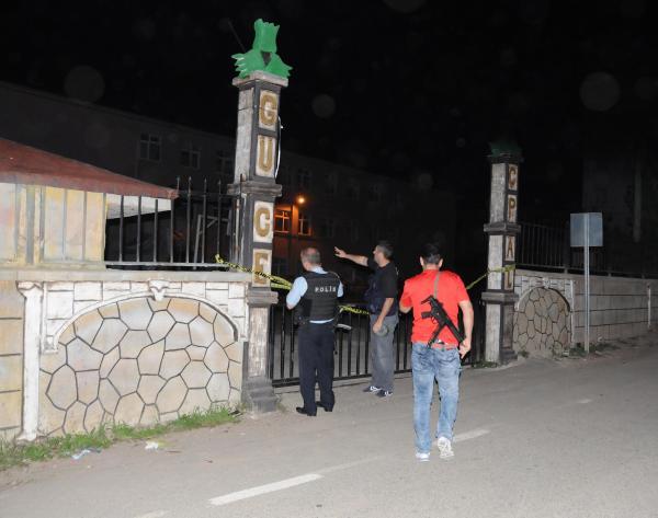 Giresun'un Güce ilçesinde jandarmaya taciz ateşi: 4 sivil yaralı