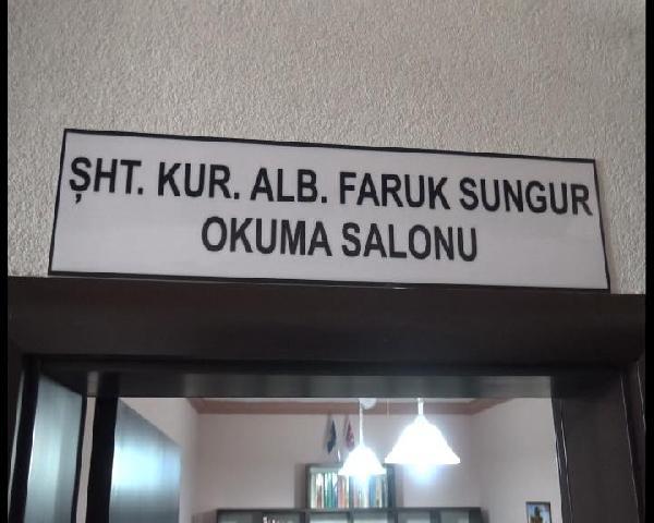 Şehit Albay Faruk Sungur'un ismi Kosova'da Türk Taburu'ndaki Okuma Salonu'na verildi