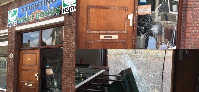 Hollanda veAlmanya'da camilere saldırı