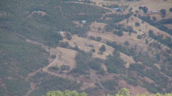 Tunceli'de operasyon ve çatışmalar sürüyor