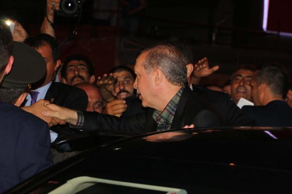 Cumhurbaşkanı Erdoğan vatandaşlarla bayramlaştı