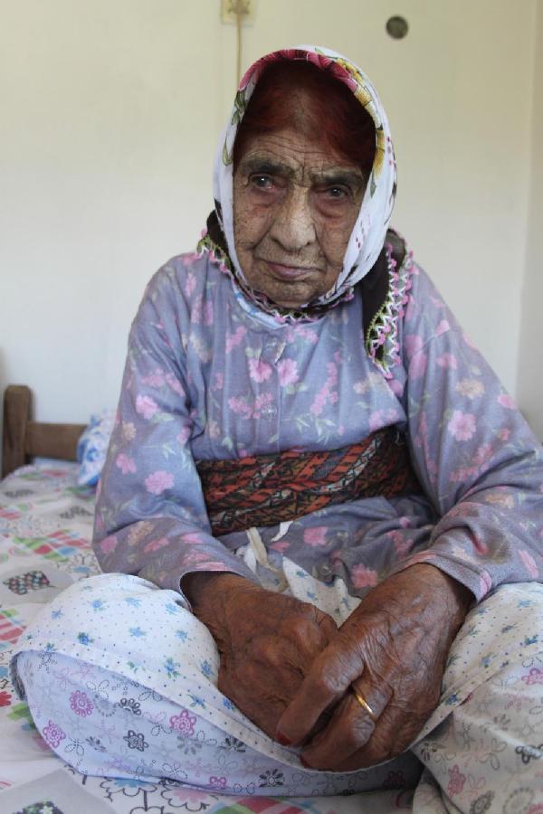 108 yaşındaki Elife Boz'un uzun yaşam reçetesi