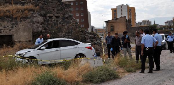 Kayseri'de silahlı kişi, polisi alarma geçirdi