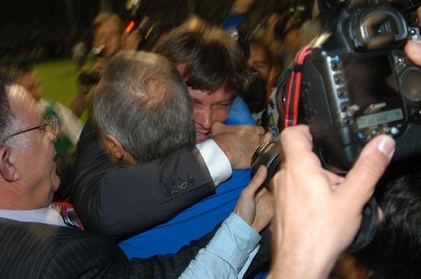 Bursaspor'da aynı statta Ertuğrul Sağlam'ın farklı gözyaşları