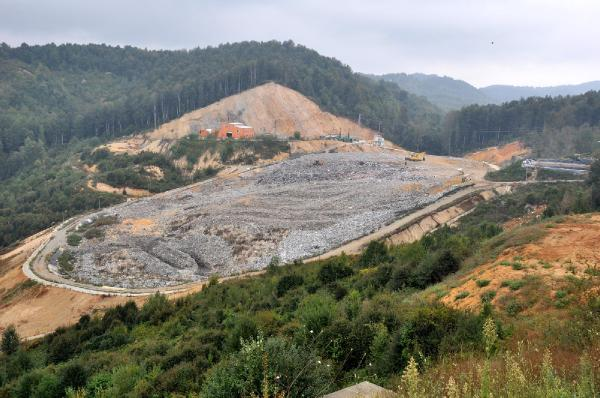 Zonguldak'ta metan gazından elektrik üretildi