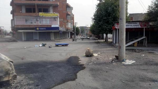 Diyarbakır'ın Bismil İlçesi'nde sokağa çıkma yasağı - ek fotoğraflar