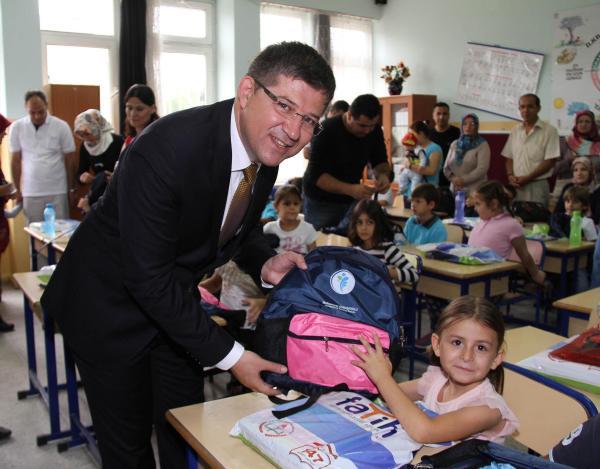 CHP'den okul çantasında isime tepki