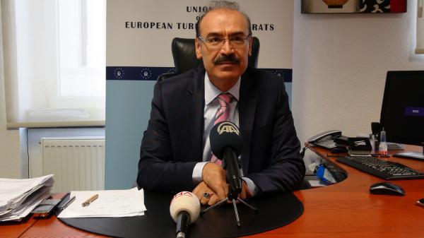 Başbakan Davutoğlu'nun Düsseldorf mitingi için hazırlıklar tamam