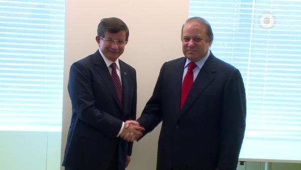 Davutoğlu Pakistan ve Norveç Başbakanları ile görüştü