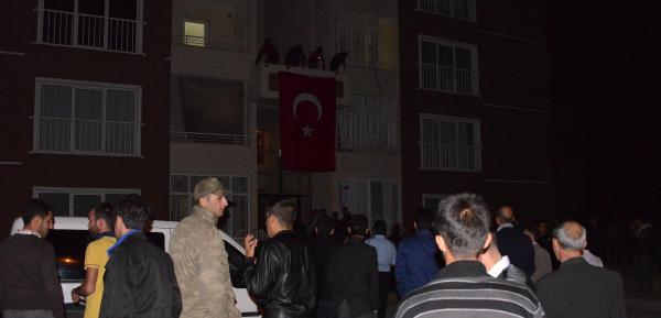 Erzurum'daki şehit ailesine acı haber verildi