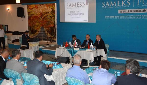 Eylül ayı SAMEKS verileri Karabük'te açıklandı