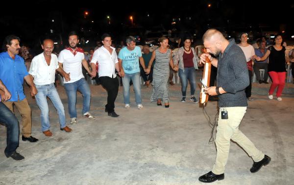Bodrum'da kemençeli- horonlu asker uğurlaması