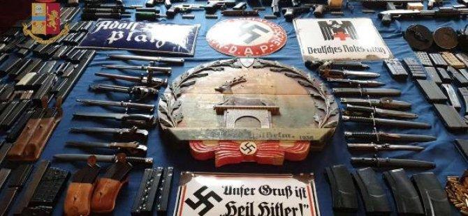 Neo-Nazilerin evinden füze ve cephanelik çıktı