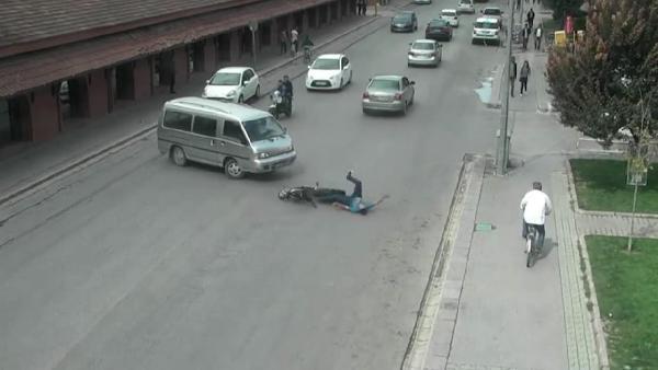 Eskişehir'de kazalar mobese kameralarında