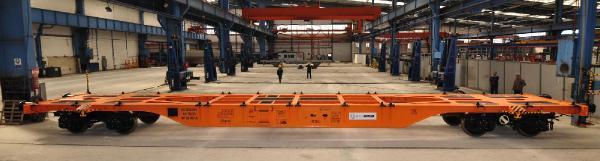 TÜDEMSAŞ'ın konteyner taşıma vagonuna TSI belgesi