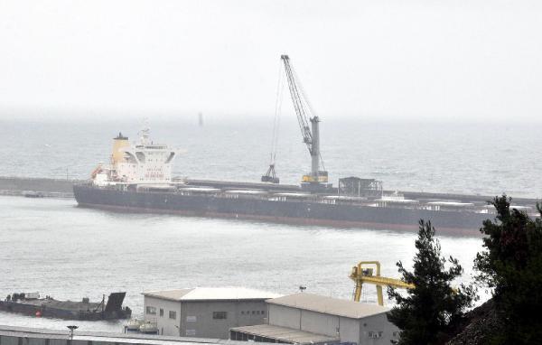 Kömür yüklü gemide uyuşturucu araması / Fotoğraflar