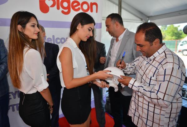 Japon Lansinoh- Pigeon, İzmir'deki fabrikasının temeli attı