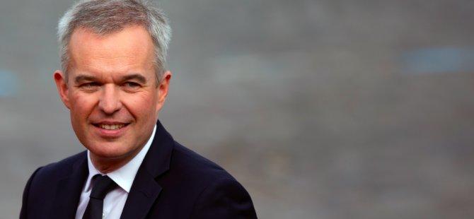 Fransa Çevre Bakanı istifa etti