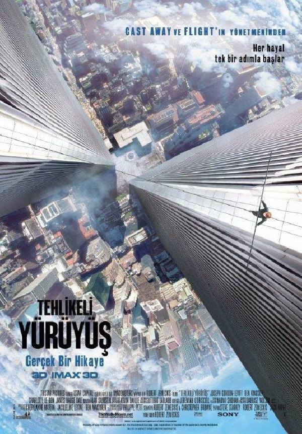 Tehlikeli Yürüyüş (The Walk) filmi 9 Ekim'de sinemalarda