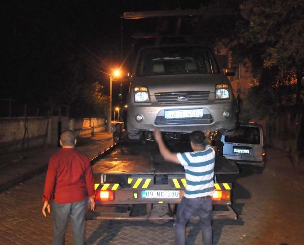 Nazilli'de hayvan hırsızlığına 4 gözaltı