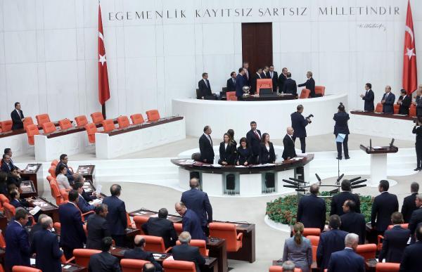 Erdoğan, TBMM 25. dönem 2. yasama yılı açılış töreninde konuştu - fotoğraflar